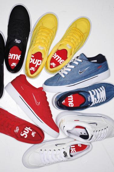 Nike SB x Supreme : les premières photos dévoilées !