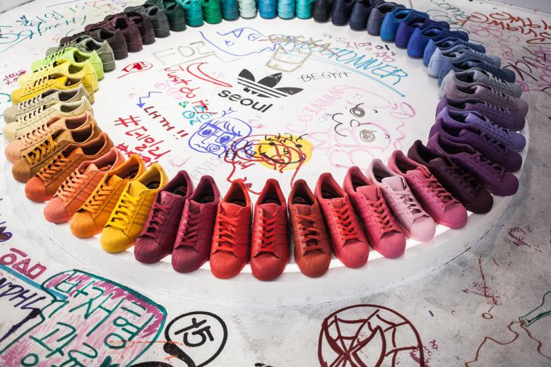 Adidas Supercolor Seoul Store