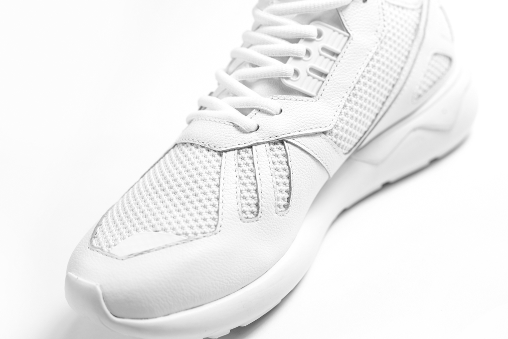 blanche adidas tubular mono