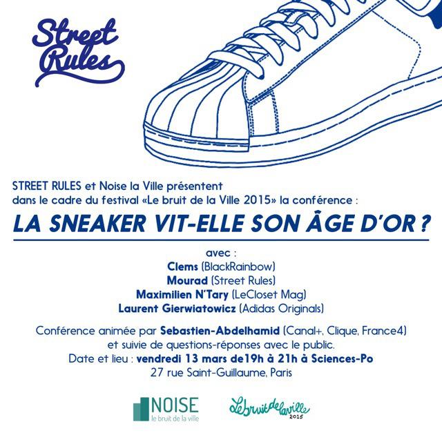 La sneaker vit-elle son âge d'or ? Conférence à Paris ce vendredi 13 mars