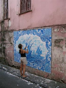 Le Street Art gourmand de Shelley Miller