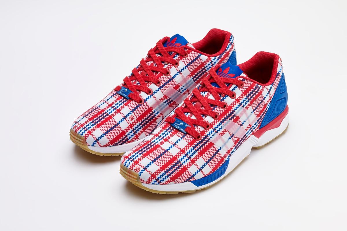 CLOT x Adidas Consortium ZX Flux RWB