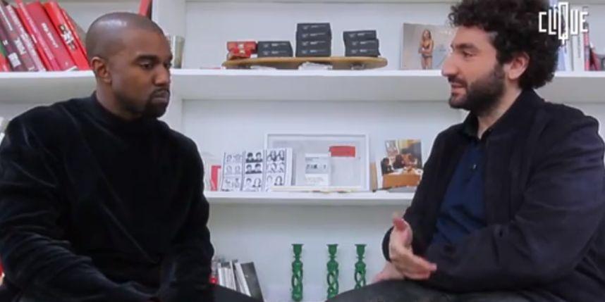 Kanye West x Mouloud Achour : interview inédite pour Clique TV