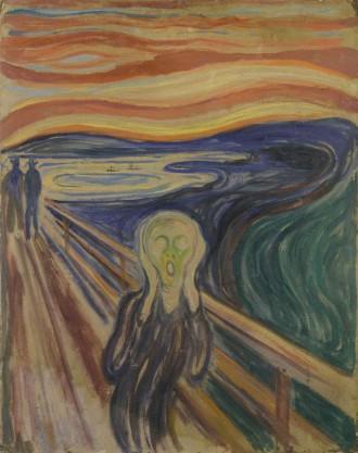 le cri - Edvard Munch Fondation Louis Vuitton