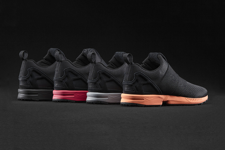 La ZX Flux Slip On Pack arrive sur mi adidas