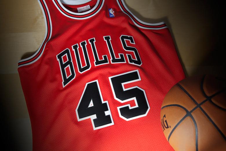 Mitchell & Ness x Michael Jordan's Comeback Jersey