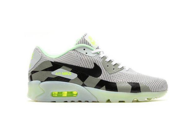 Modèle vert Nike Air Max 90 KJRD ice