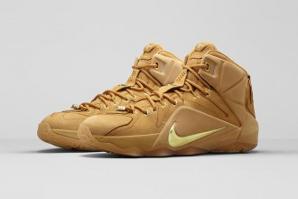 Nike LeBron 12 ext wheat 1