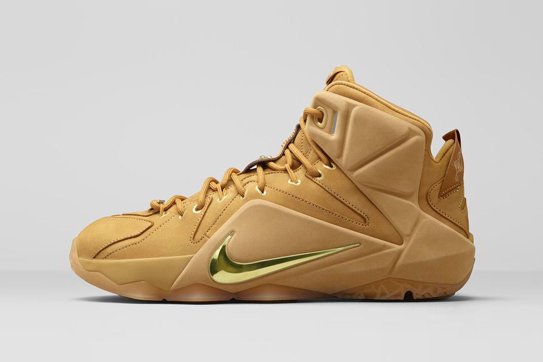Nike LeBron 12 ext wheat 2