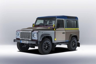 Paul Smith x Land Rover : édition spéciale du 4x4 Defender