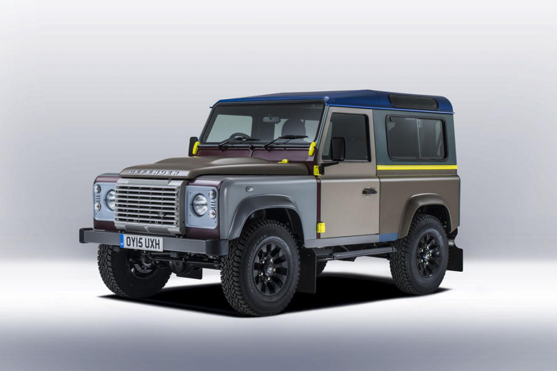 Paul Smith x Land Rover : édition spéciale du 4×4 Defender
