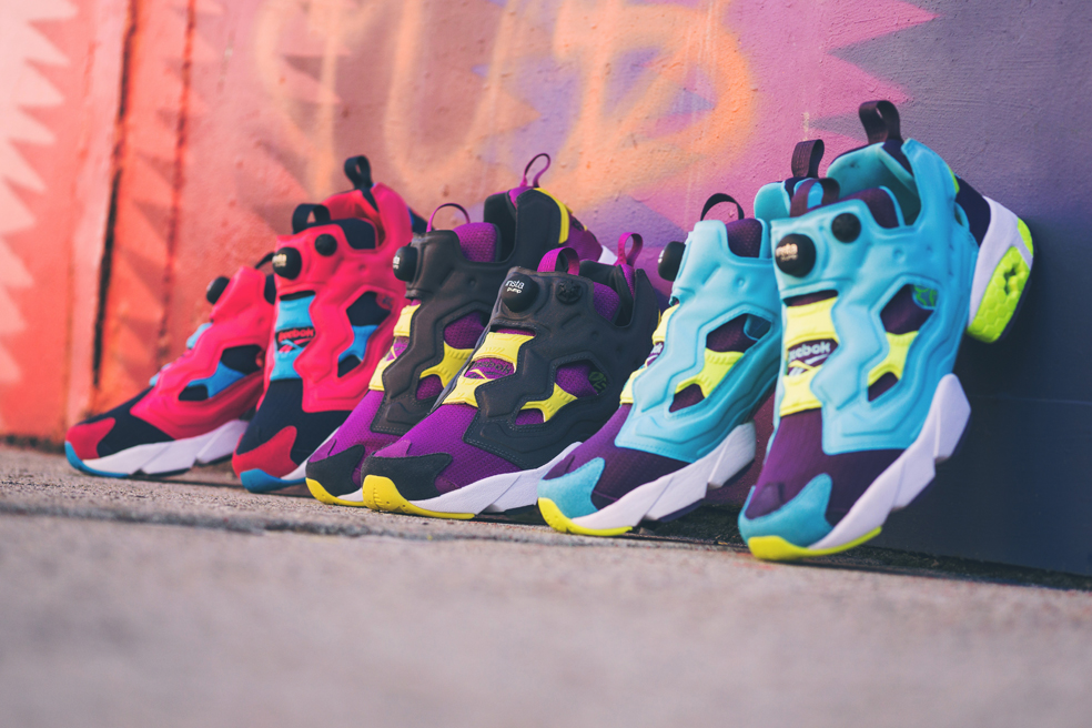 Reebok Classic Instapump  Fury : le pack Athletic 90's