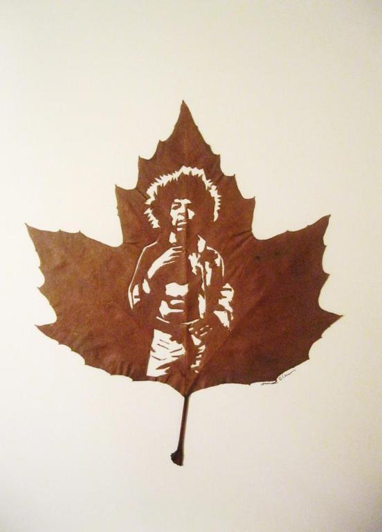 Jimi Hendrix par Omid Asadi