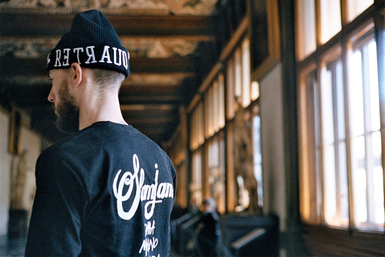 dos homme slam jam x stussy spring collection