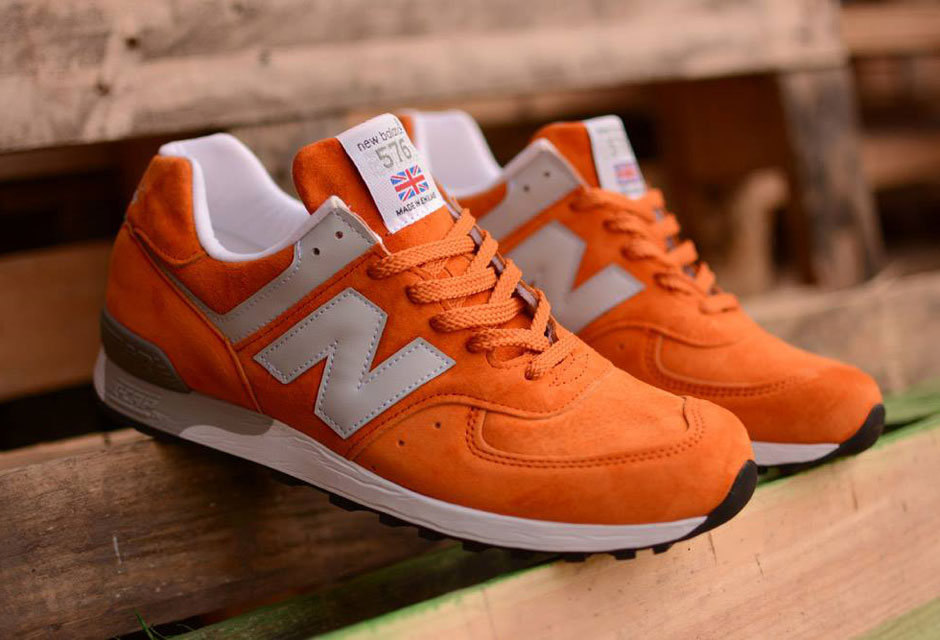 new balance orange et blanche