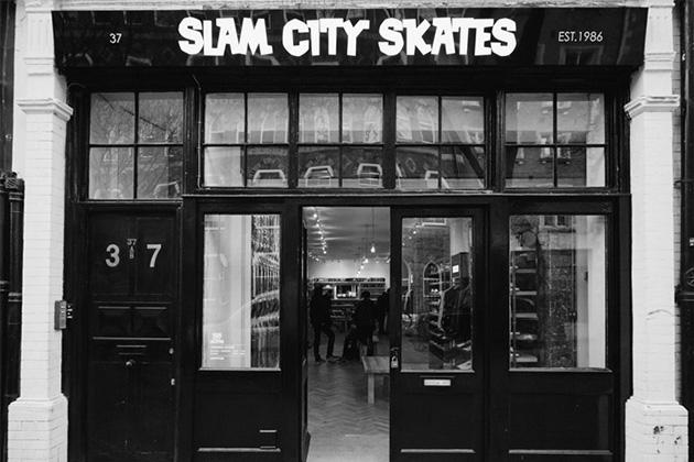SLAM CITY SKATES ouvre une nouvelle boutique à Londres !