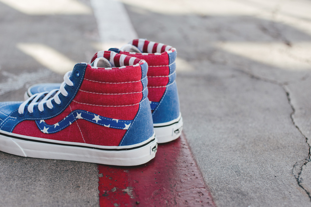 Vans stars and stripes pack