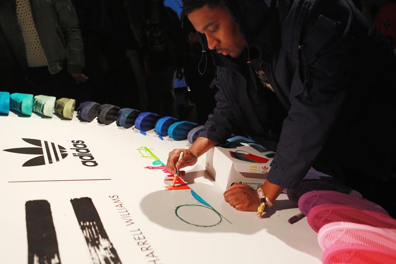 Adidas UK superstar show