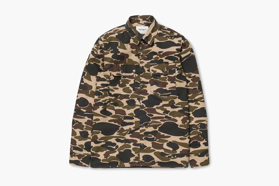 Carhartt  WIP : la collection capsule « Camo » SS15