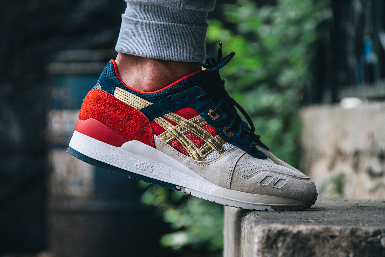 Concepts x Asics Gel Lyte III « Boston Tea Party »