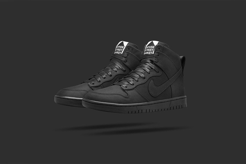 nike lab dover street market dunk lux high