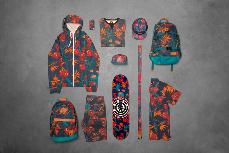 Element : La collection « Sketch Floral »