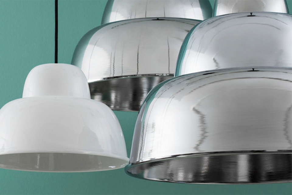 From us with love - Lamps levels chrome - 2