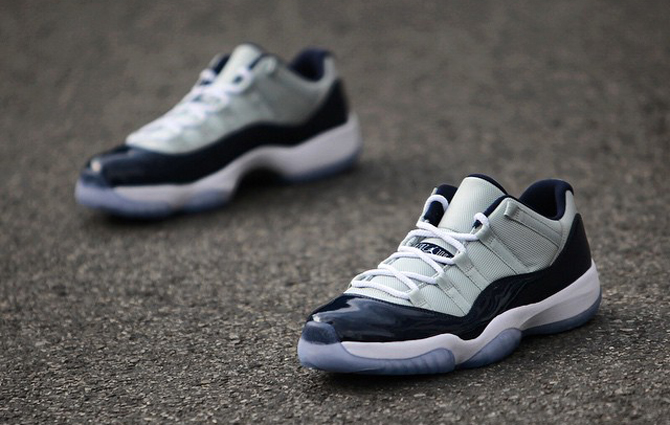 """Nike Air Jordan 11 Low """"Georgetown"""""""