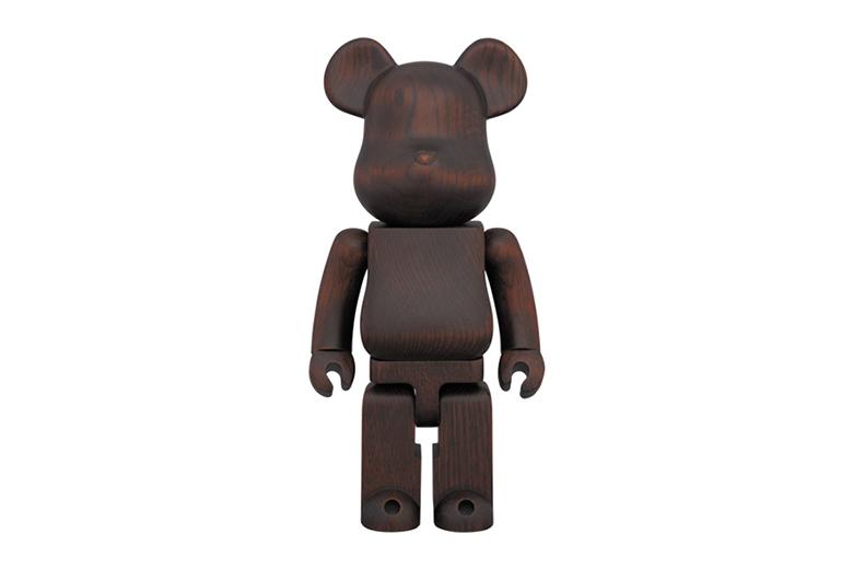 karimoku x Medicom Toy Bearbrick Rosewood Paint 400 %