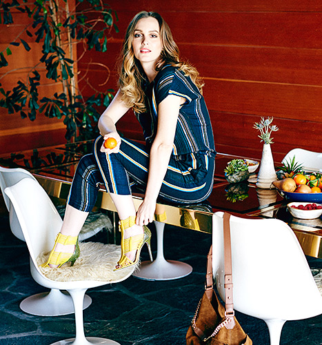 Leighton meester pour Jimmy choo
