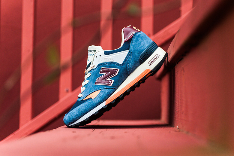 New balance M577TBO test match « blue/red/orange »