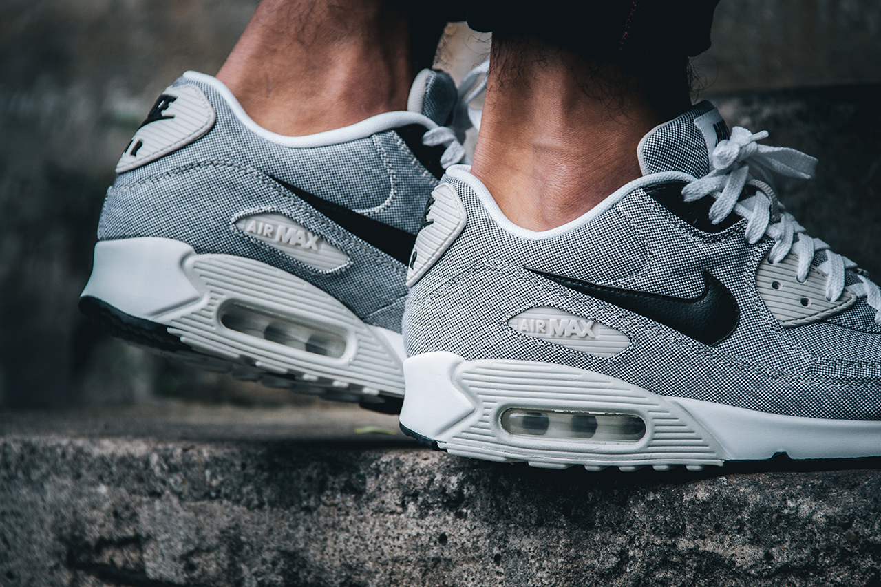 new arrival f8d69 ef825 Nike Air Max 90 Premium Grey Sail