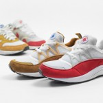 Nike air huarache light dark curry et university red