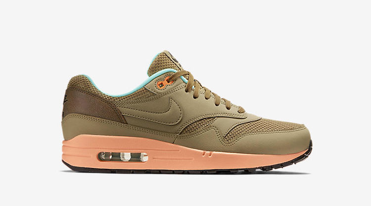 Nike Air Max 1 FB Hay/Sunset Glow-Artisan Teal