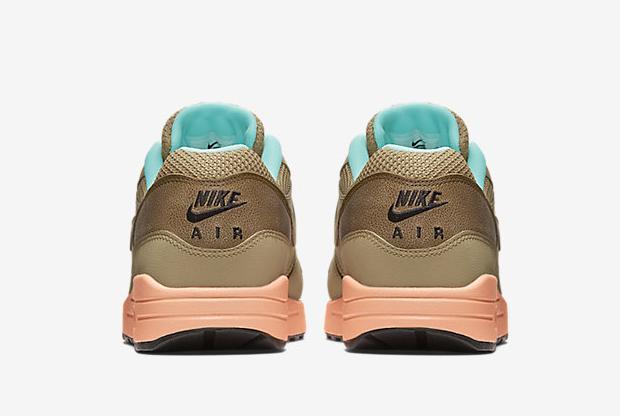 Nike Air Max 1 FB Hay/Sunset Glow-Artisan Teal