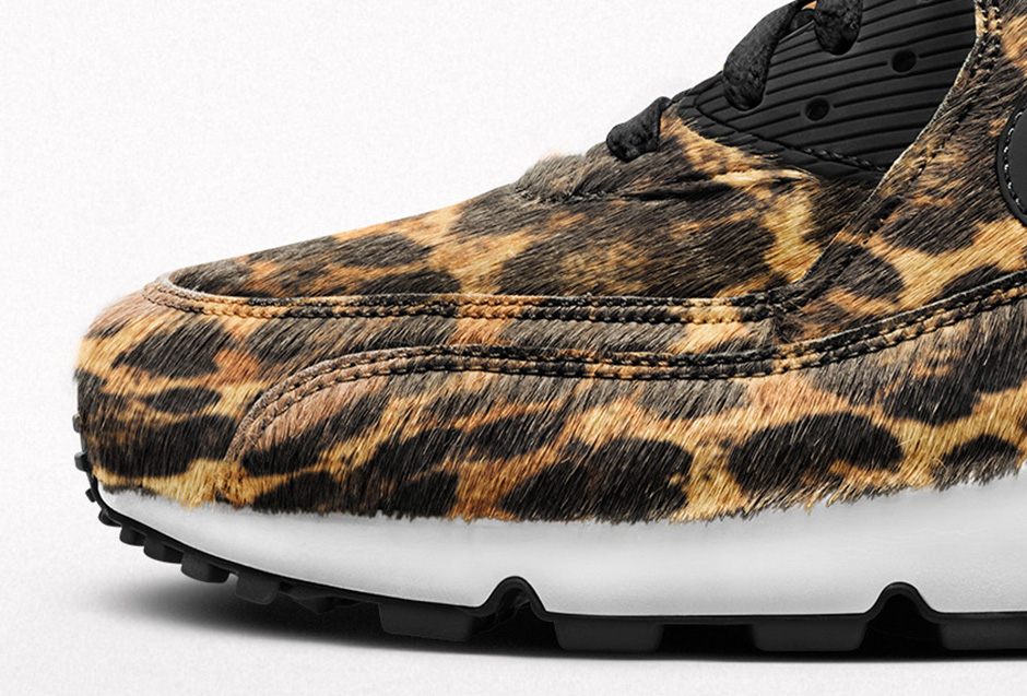 Nike Air Max 90 Premium iD « Pony Hair Animal Print »