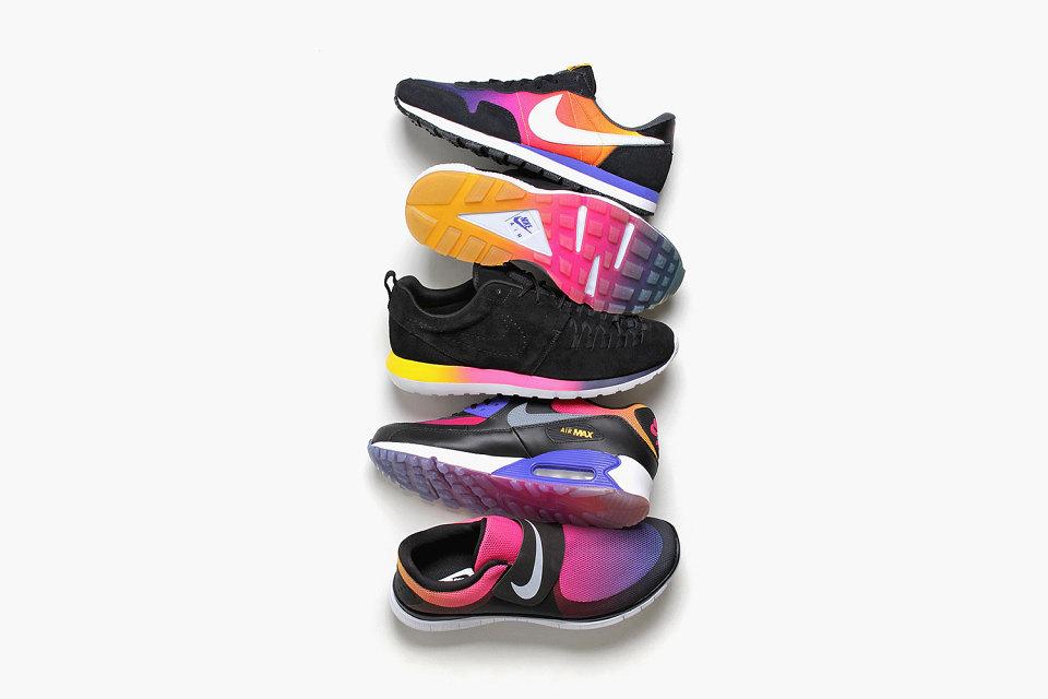 Le pack «Sunset» de Nike dévoilé