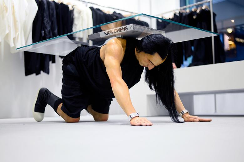 Ouverture de la première boutique Rick Owens en Asie