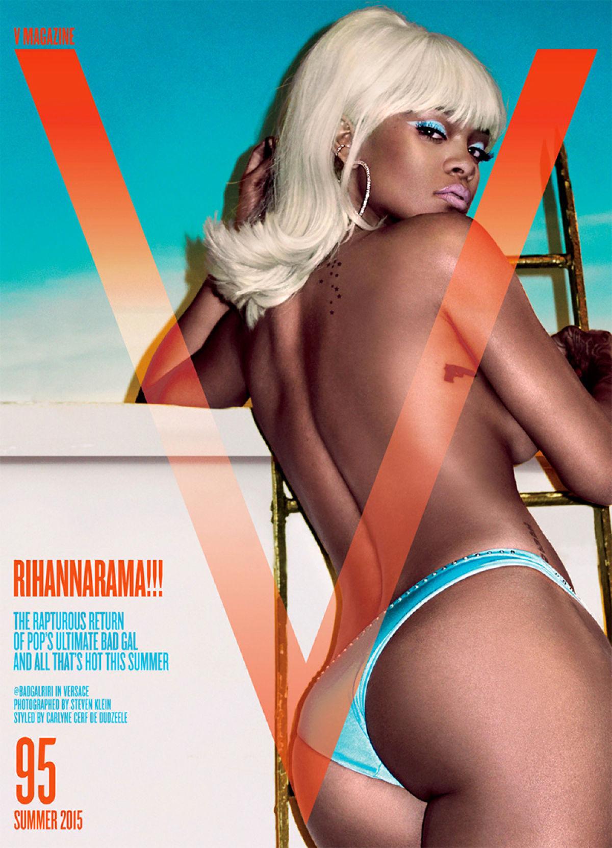 Rihanna V Magazine Cover