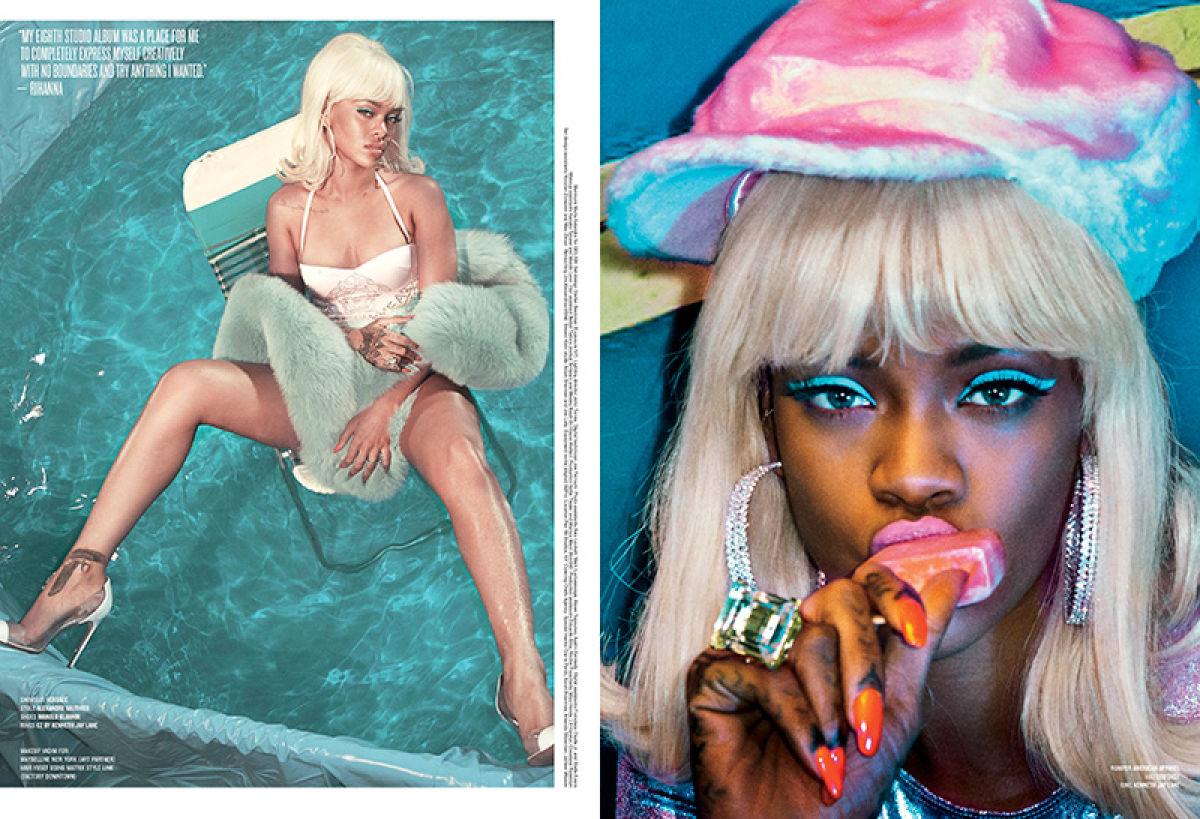 Rihanna V Magazine 3