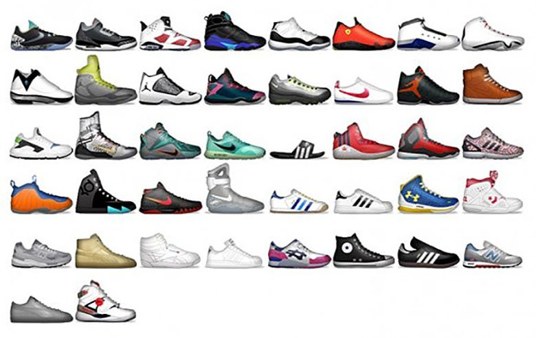 «Shoemoji»: découvrez les Emojis «Sneaker» by Foot Locker