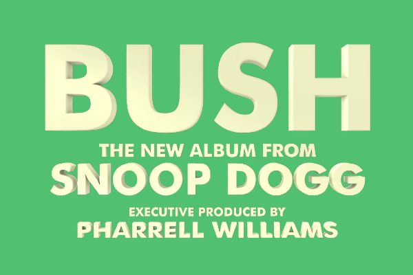 Snoop dogg – écoutez le nouveau single produit par Pharrell Williams !