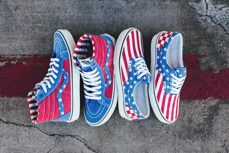 Vans 2015 Spring/Summer «Stars and Stripes» Pack