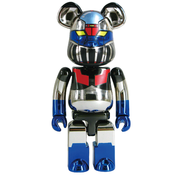 Le Bearbrick «Super-Alloy Z» de Mazinger Z et Medicom Toy