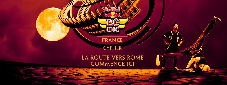 Red Bull BC One France Cypher 2015 : 4×2 places à gagner