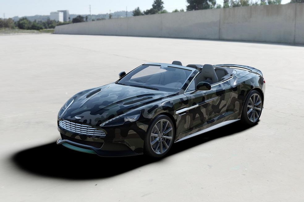 L'Aston Martin Vanquish revue par Valentino