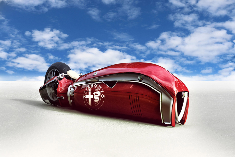 Alfa Romeo Spirito Motorcycle, le concept futuriste