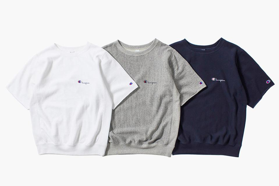 nanamica x Champion Sweatshirts été 2015