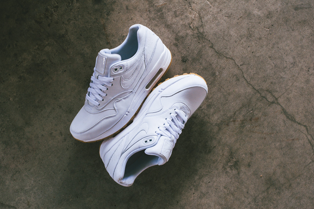 Nike Air Max 1 Cuir PA «White Ostricht»