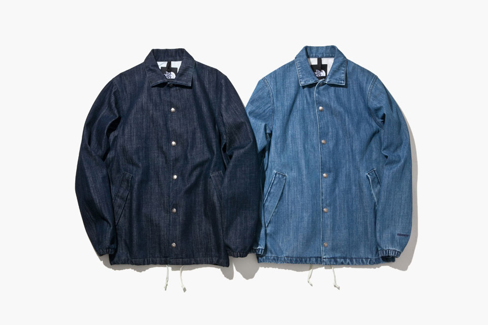 The North Face DENIM COACH JACKETS Printemps/Été 2015